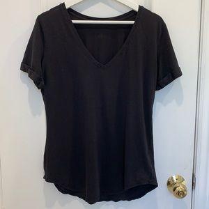 Lululemon Black Tshirt Size 8